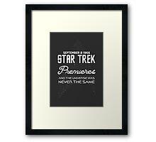 STAR TREK 50TH ANNIVERSARY Framed Print
