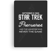 STAR TREK 50TH ANNIVERSARY Canvas Print