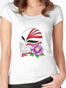 Ichigo's mask Women's Fitted Scoop T-Shirt