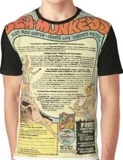 Sea Monkeys Graphic T-Shirt