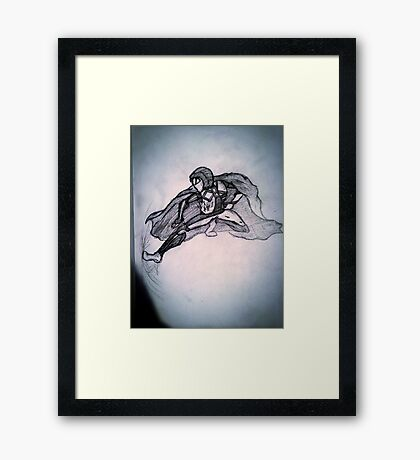 CBK Hero Framed Print