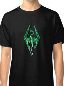 Skyrim Green Glass Classic T-Shirt