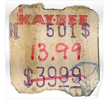Kay Bee Toys Poster