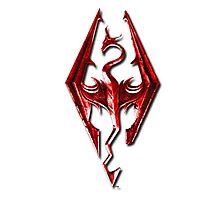 Skyrim - Red Photographic Print