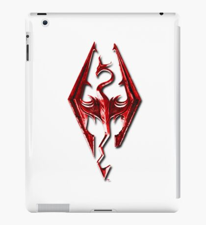 Skyrim - Red iPad Case/Skin