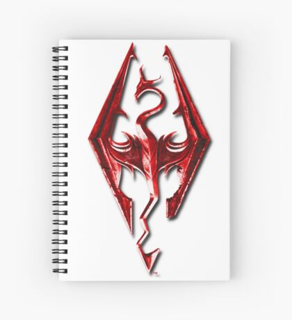Skyrim - Red Spiral Notebook