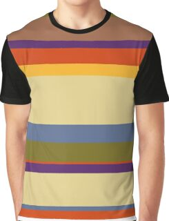 Fourth Doctor's Scarf from Doctor Who Graphic T-Shirt