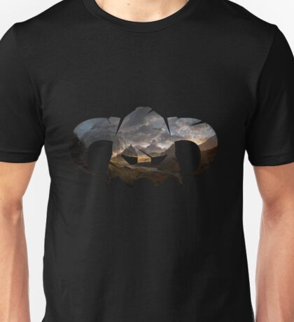 Skyrim Helmet Unisex T-Shirt