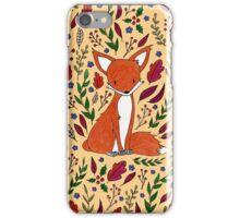 Fall Fox iPhone Case/Skin