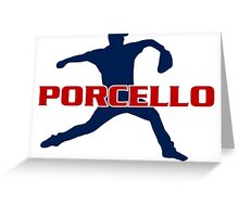 Rick Porcello Greeting Card