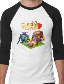 CLASH OF CLANS ALBUMS 7 Men's Baseball ¾ T-Shirt