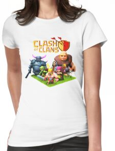 CLASH OF CLANS ALBUMS 7 Womens Fitted T-Shirt