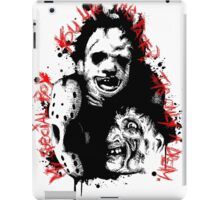 Horror Trifecta  iPad Case/Skin
