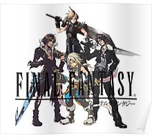 Final Fantasy Characters Poster