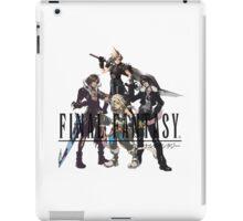 Final Fantasy Characters iPad Case/Skin