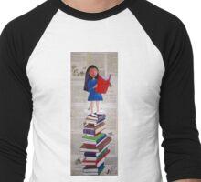 Reader of Books Men's Baseball ¾ T-Shirt