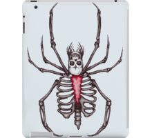 Black Widow Spider Skeleton iPad Case/Skin