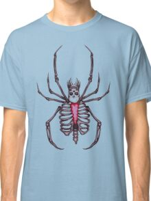 Black Widow Spider Skeleton Classic T-Shirt
