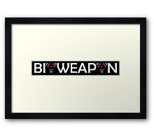 BIOWEAPON Framed Print