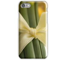 Ribbon Tied Daffodils iPhone Case/Skin