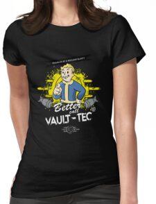 Fallout - Better Call Vault Tec Womens Fitted T-Shirt