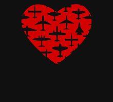 I Heart Planes Unisex T-Shirt