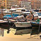 .. sundown at Mergellina / Naples / Italy by Rachel Veser