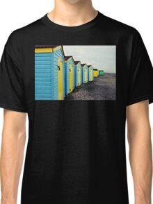 Beach Huts  Classic T-Shirt