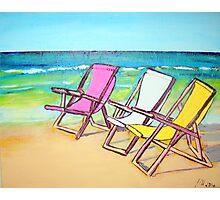 Beach-Side Photographic Print