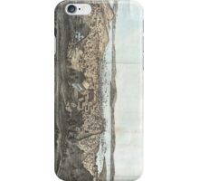 Vintage Pictorial Map of San Francisco (1854)  iPhone Case/Skin