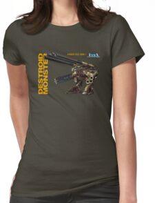 Macross Robotech Destroid Monster Womens Fitted T-Shirt