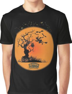 Spooky Halloween Night Happy Halloween Graphic T-Shirt