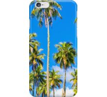 Moorea Palm Trees Pillow iPhone Case/Skin