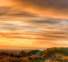Sunset at Scrabo Tower Sticker