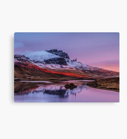 Loch Fada Reflections Canvas Print