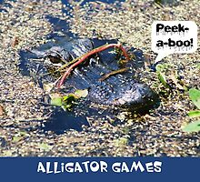 Play Alligator Games! by MaggiesPhotos