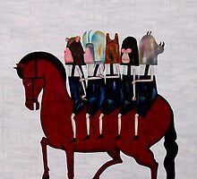 red horse de la serie Hard Candy by AdriZarate