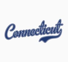 Connecticut Script Font Blue by USAswagg