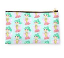 Teal Mermaid Princess Studio Pouch
