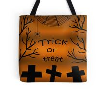 Trick or treat - cemetery Tote Bag