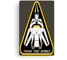 Macross Robotech Skull Squadron VF-1S Valkyrie  Canvas Print