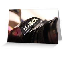 Minolta Greeting Card