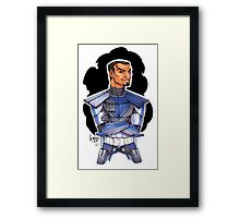 He may be called Fives but we know he's a Ten :D Framed Print