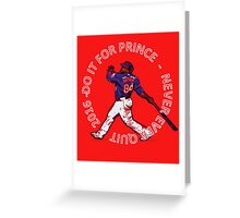 Texas Rangers--Never Ever Quit Greeting Card