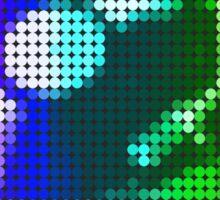 Turntable Mosaic Sticker