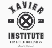 Xavier Institute Baby Tee
