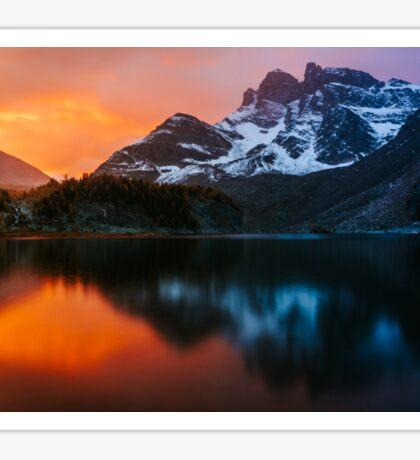 Gog Lake Sunrise Sticker