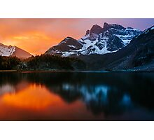 Gog Lake Sunrise Photographic Print