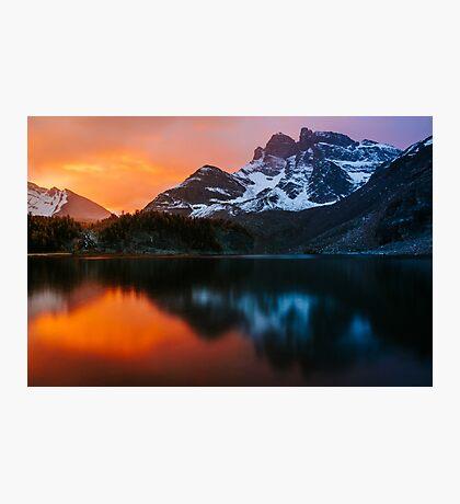 Gog Lake Sunrise Photographic Print