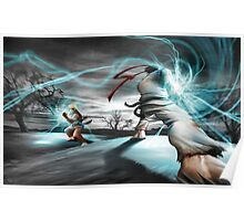 Fight Ryu vs Ken Poster